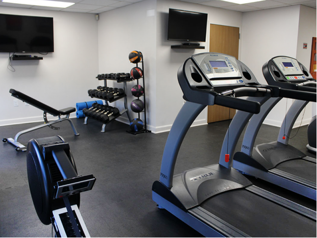 Image of High impact fitness center for Station 101