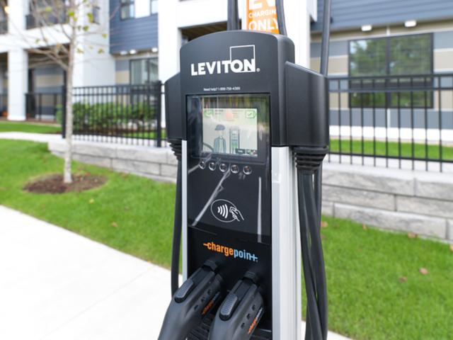 Car Charging Stations | Apartments West Roxbury Ma | Oak Row