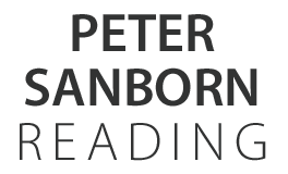 Peter Sanborn Reading