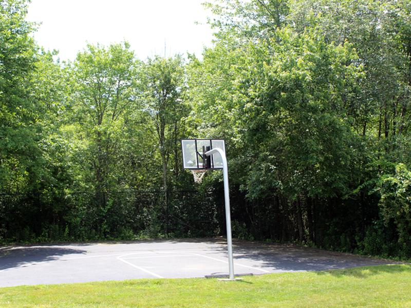 Basketball court | Presidential Courts - Stoughton, MA