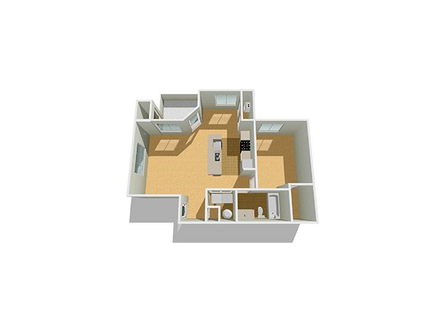 Floor Plan 4 | Fields at Gramercy Apartments