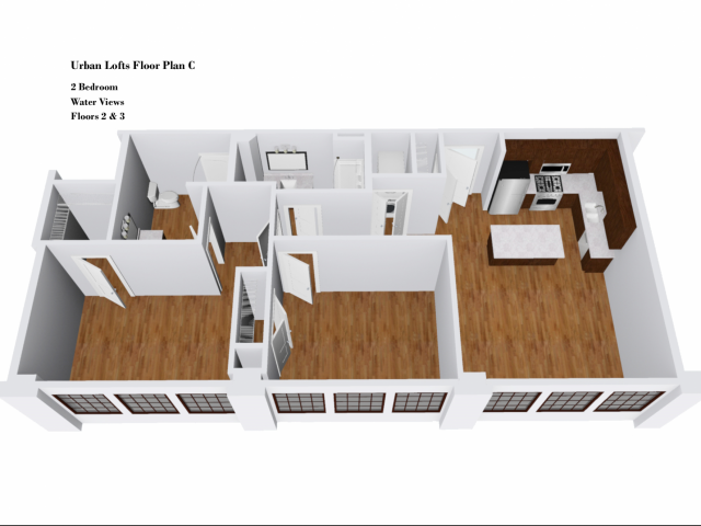 Urban Lofts Floor Plan C