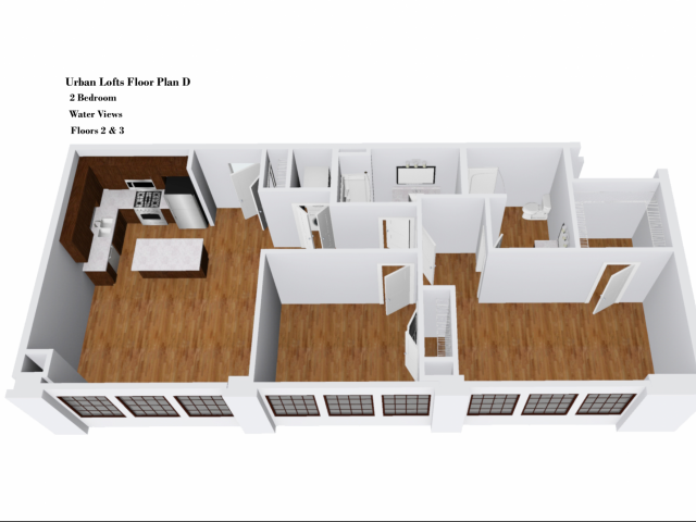 Urban Lofts Floor Plan D