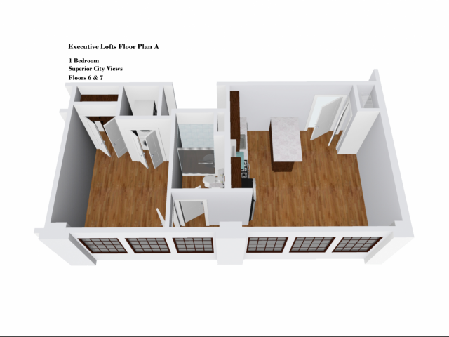 Executive Lofts Floor Plan A