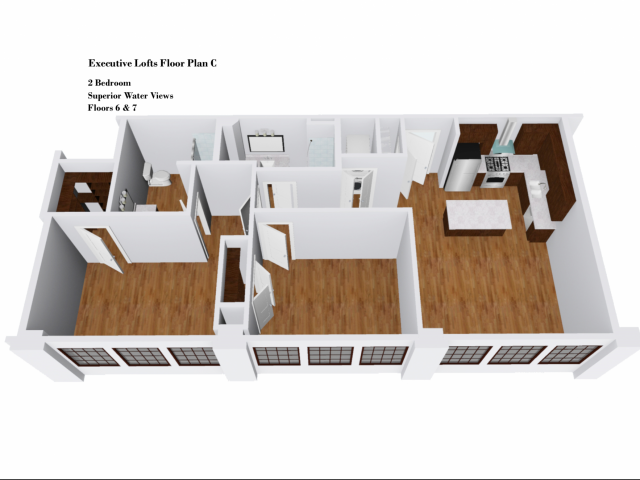 Executive Lofts Floor Plan C