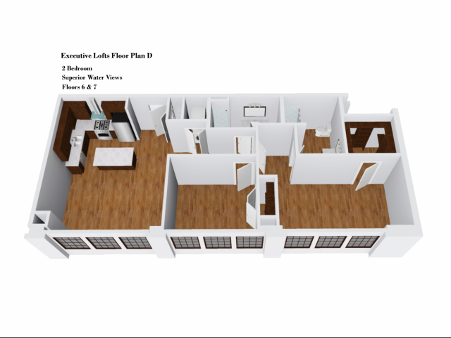Executive Lofts Floor Plan D