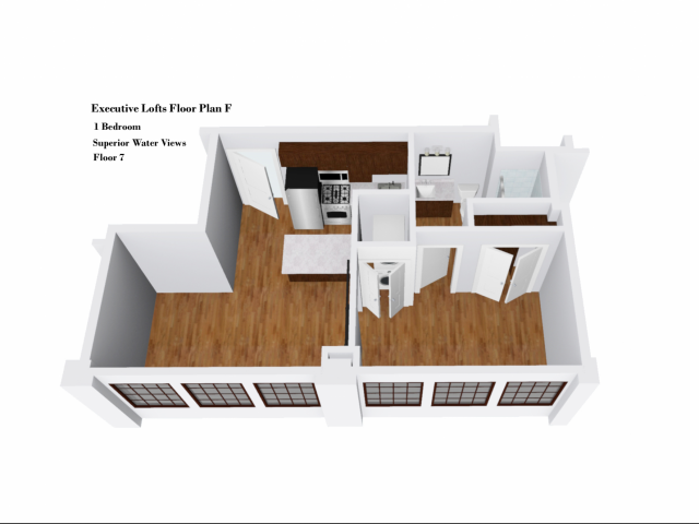 Executive Lofts Floor Plan F