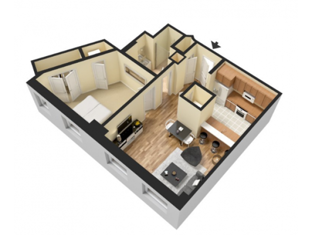 Sample One Bedroom