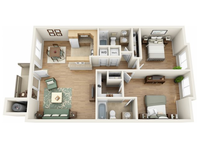 1st Floor Standard Unit