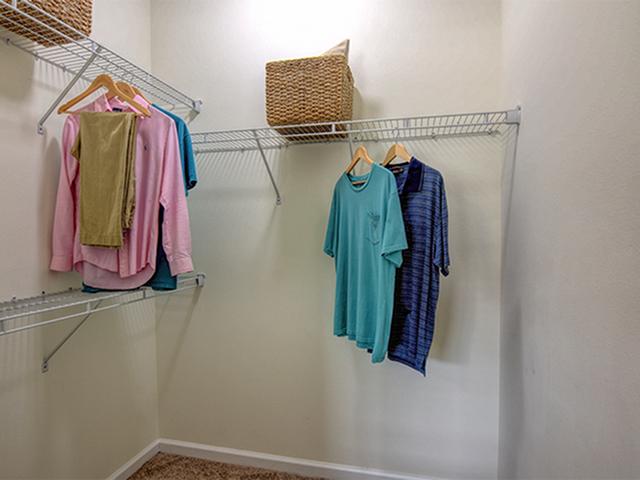 Image of Walk-in closet for Aspire 349