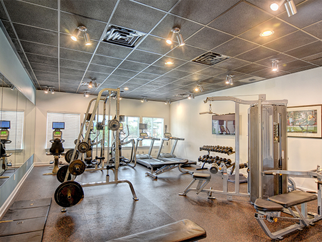 Image of Fitness center for Aspire 349