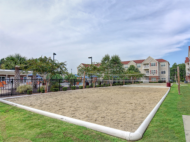 Image of Volleyball court for Aspire 349