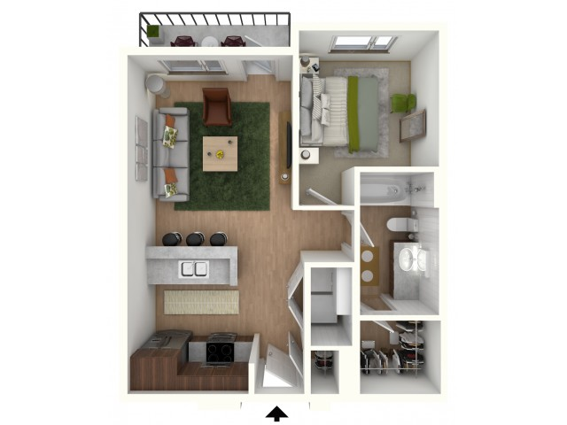 A1A - floor plan wfurniture display