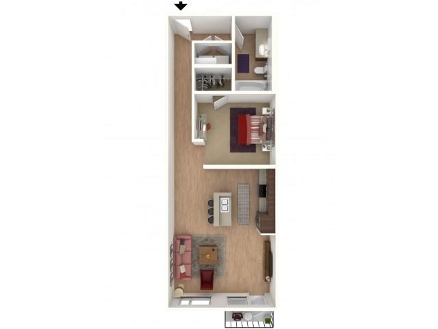 A3 - floor plan wfurniture display