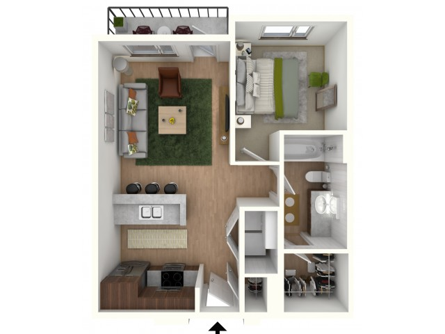 A1 - floor plan wfurniture display