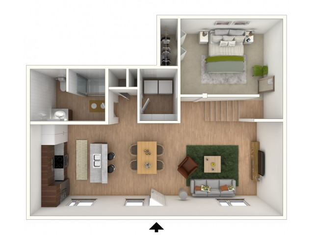 L1 - floor plan wfurniture display