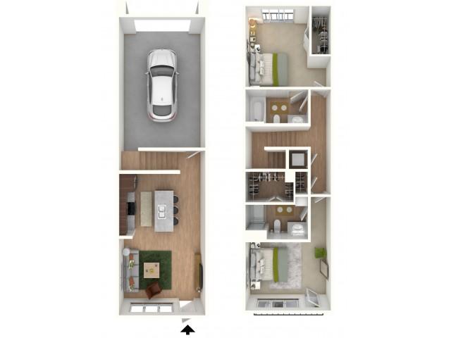 TH2 - floor plan wfurniture display