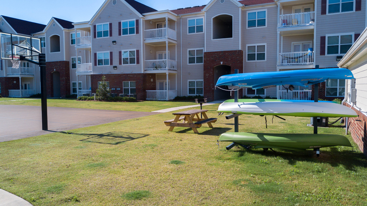 Kayak Rack | Uncw Off Campus Apartments | Aspire 349