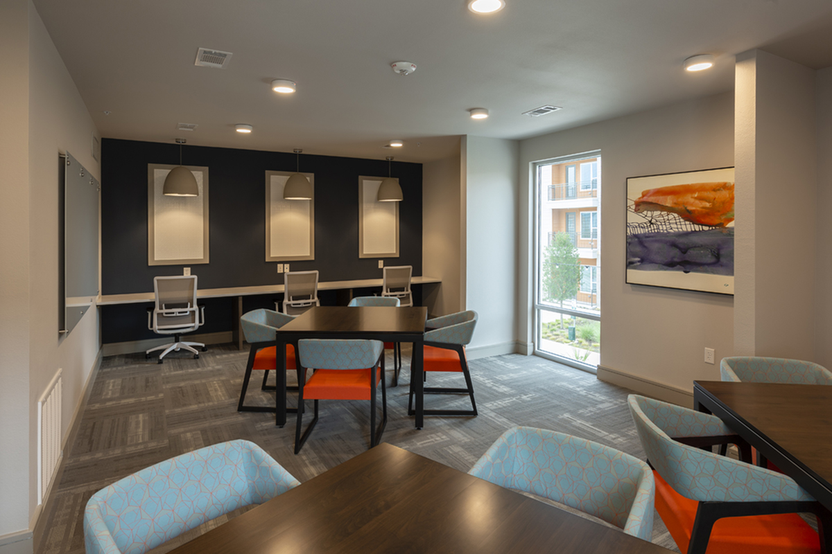 Study lounge | Apartments in Richardson | Northside