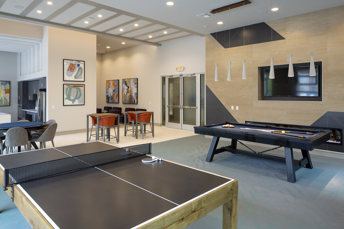Image of Game room for Northside Apartments