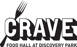 crave food hall logo