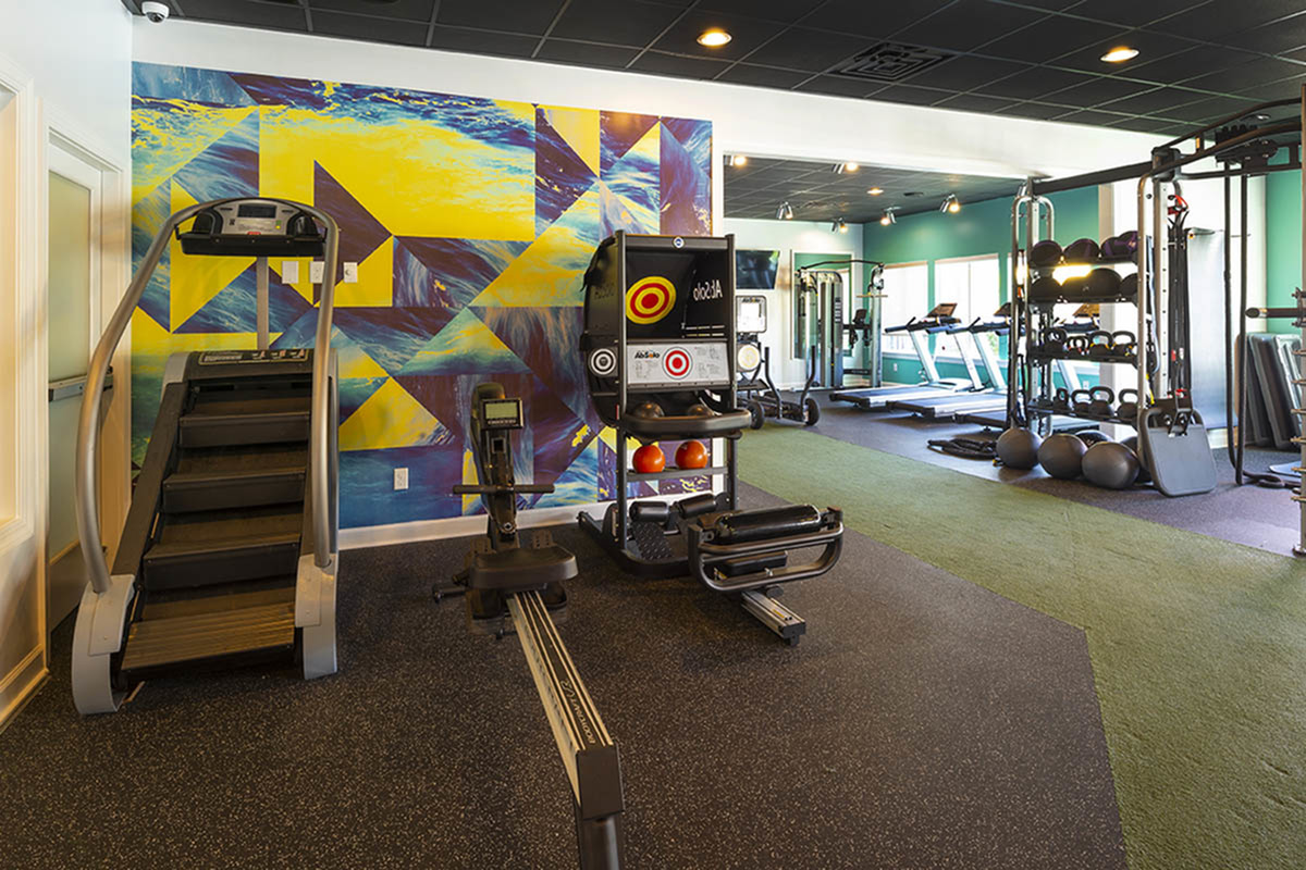 Resident Fitness Center | Apartments Near Uncw Wilmington Nc | Aspire 349