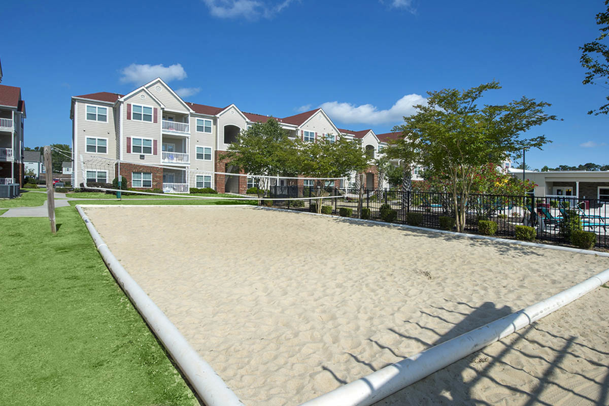Sand Volleyball Court | Apartments Near Uncw | Aspire 349