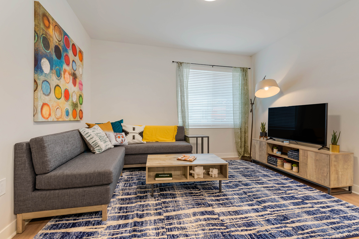 Image of Fully furnished units including smart TV for Aspire at Discovery Park