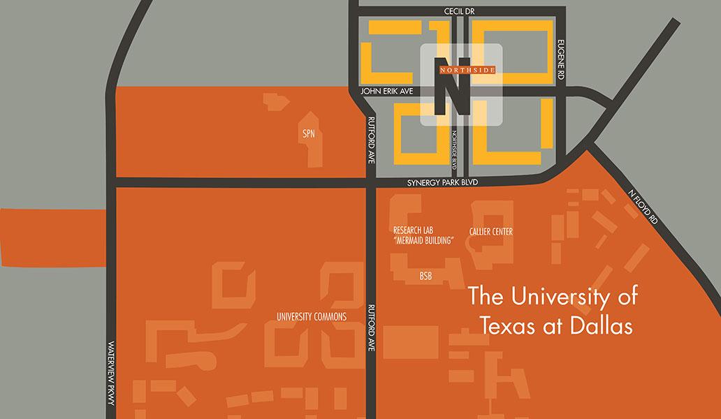 University of Texas - Dallas Apartments   Northside