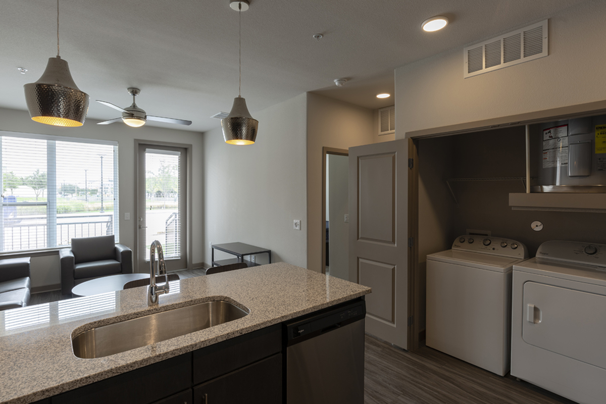 In unit washer and dryer | University Of Texas At Dallas Apartments | Northside