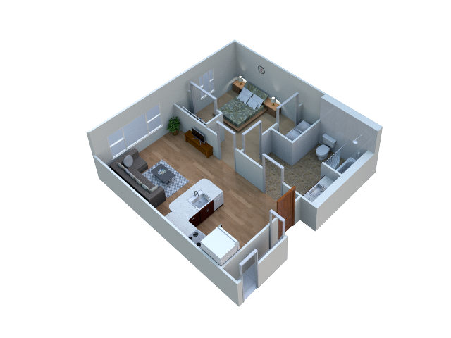 Kinnick floor plan