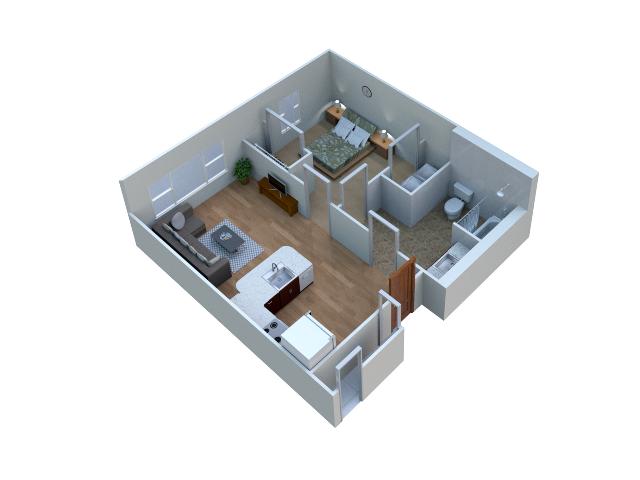Hancher floor plan