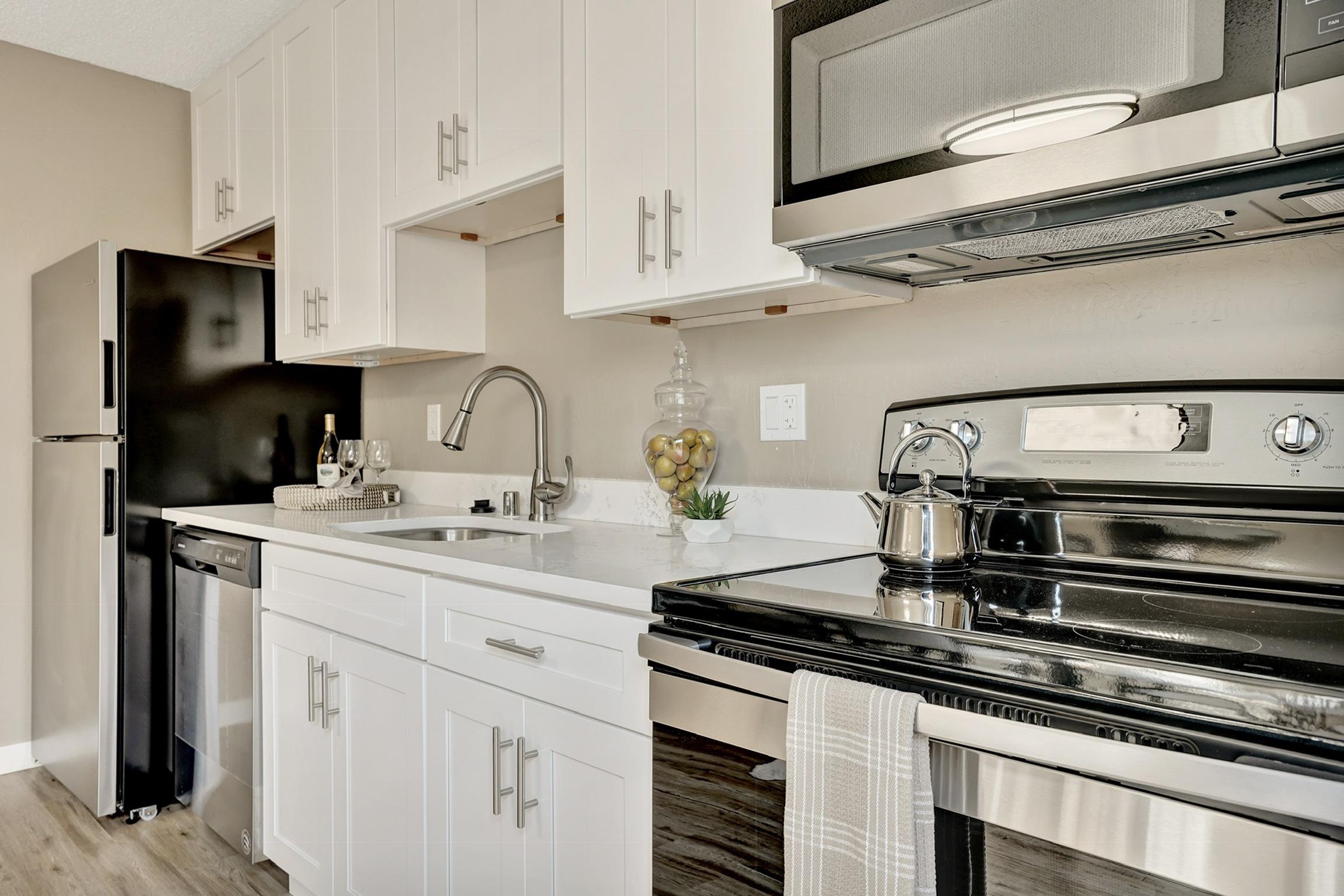 Image of Upgraded Kitchen for Parkside Gardens