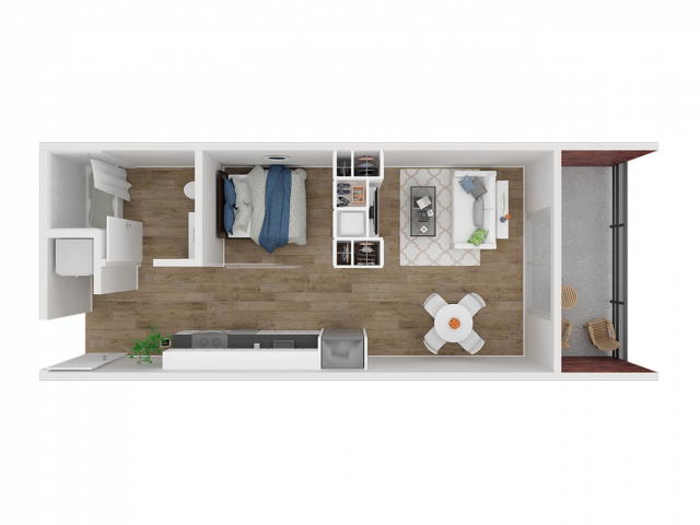 Jr. One Bedroom A