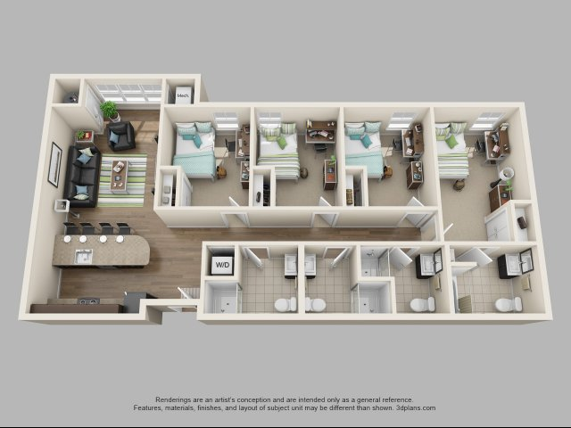Floor Plan 6 | Twin River