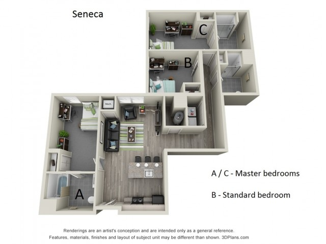 Floor Plan 4 | Hillside Commons