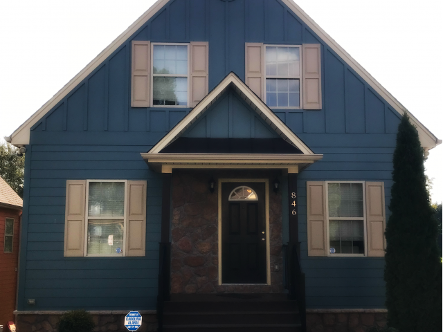 Beautiful Blue House on Ewing