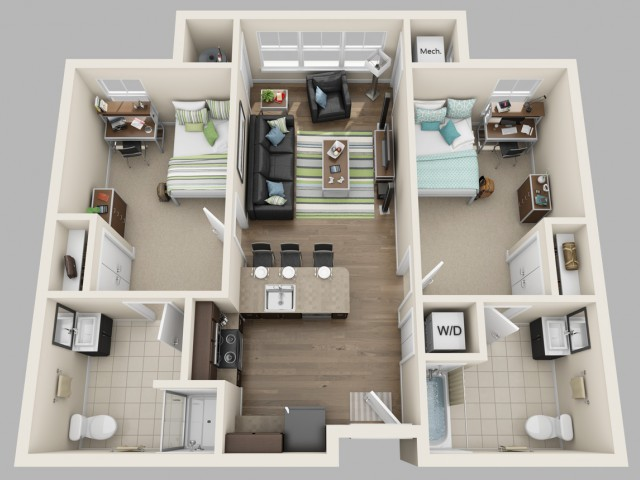 Floor Plan | Twin River