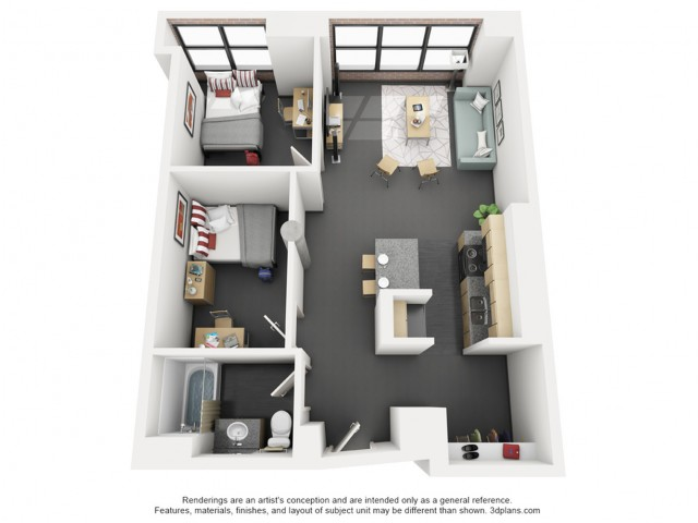 2 Bedroom Alternative