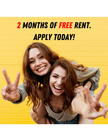 2 Months of Free Rent. Apply Today!