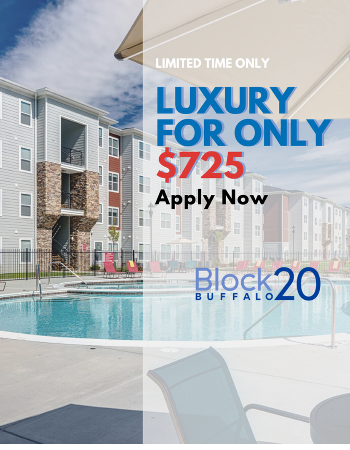 Limited Time Only! $725 Rates on our 4x4 Floorplans. Click HERE to apply for free now!