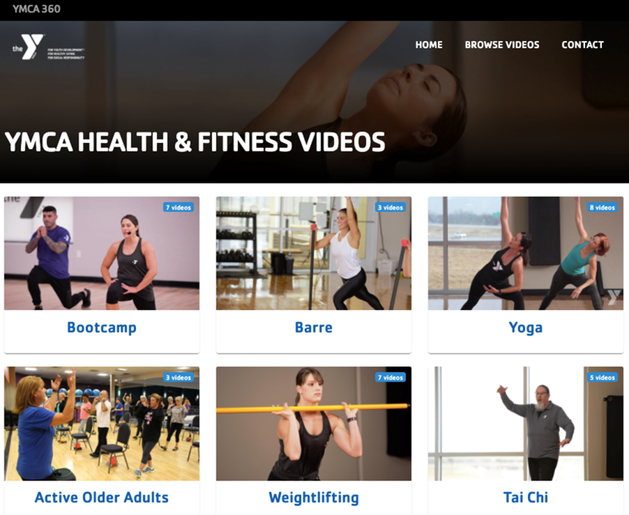 YMCA Keeping Us Healthy at Home-image