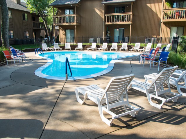 Image of Poolside Lounge Seating for Forrest Grove Apartments