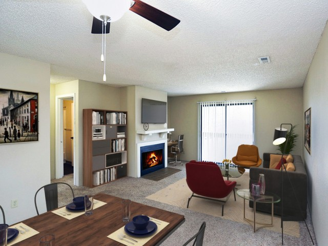Image of Fireplace for Forrest Grove Apartments