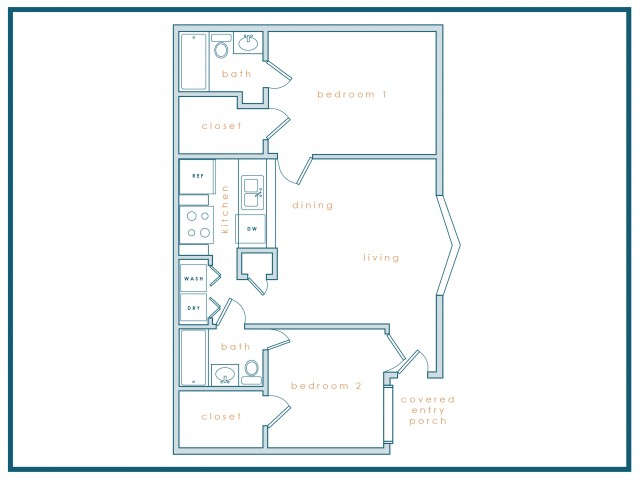 B2 | Two Bedroom | Two Bath