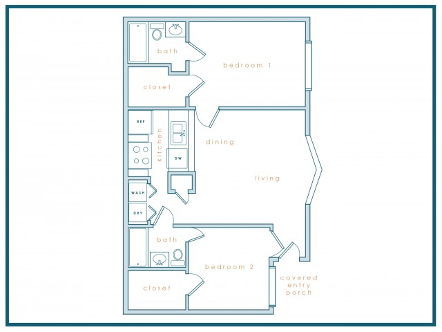 B3 | Two Bedroom | Two Bath