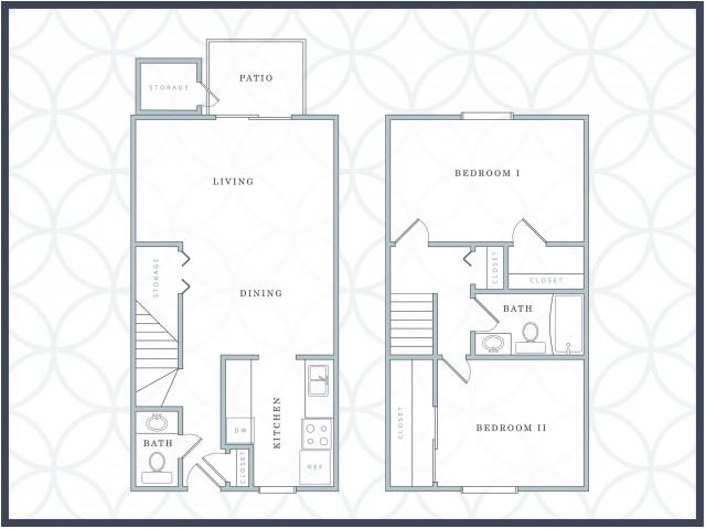 B1 | 2 Bedrooms | 1.5 Baths