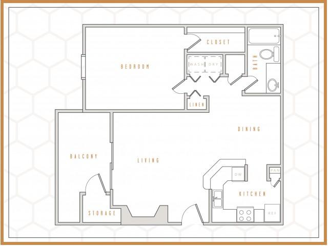 A1 || 1 Bedroom | 1 Bath