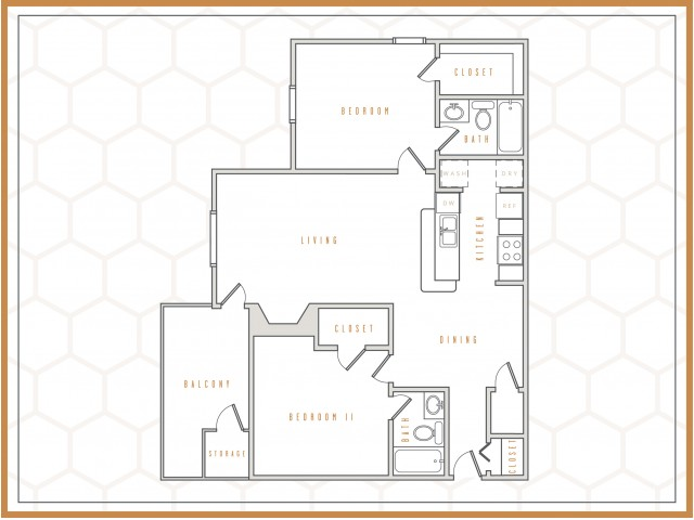 B2 || 2 Bedroom | 2 Bath