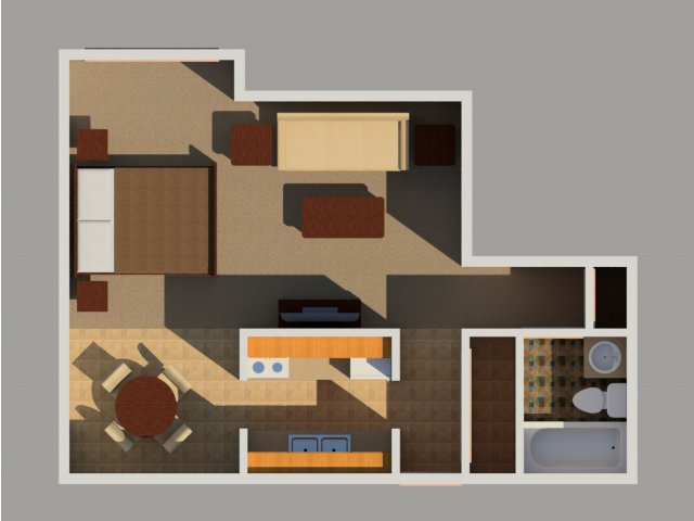 0 For The Efficiency Floor Plan